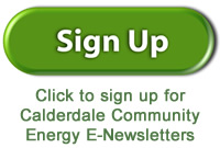 Calderdale Community Energy newsletter signup